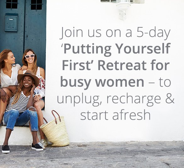 putting yourself first retreat for busy women mobile